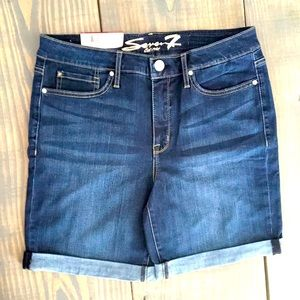 💙 Seven7 Sunset Bermuda Denim Shorts